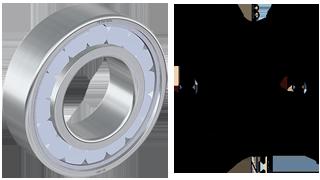 22311CMBC3SV20 Steyr New Spherical Roller Bearing